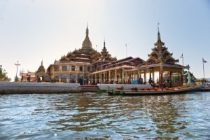 11317376-view-of-a-buddhist-temple-in-inle-lake--myanmar
